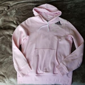637073d2b1e Adidas Climacool Pink Striped Sweater